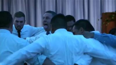 Танец хака на свадьбе в Новой Зеландии стал хитом интернета