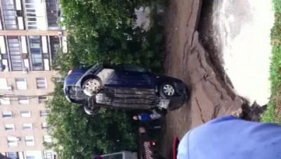 Авто под водой в Самаре