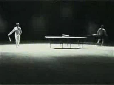 Брюс Ли играет в теннис