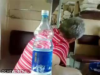 Бабуля и заколдованная бутылка
