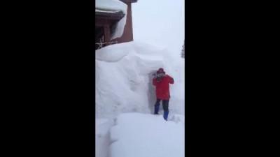 Суровая зима на Аляске