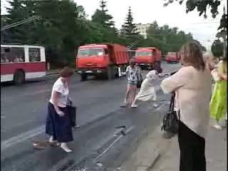 Ремонт дороги в Чебоксарах