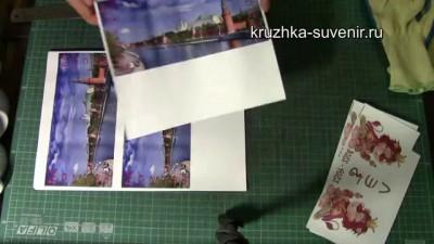 DIY Печать фото на кружке. Как нанести изображение на кружку. DIY How to Print Photo on Mug