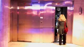 Розыгрыш с лифтом