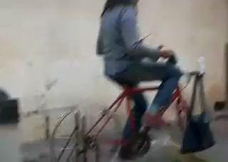 Стиральная машинка на педалях