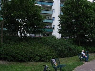 Детская площадка на окраине Берлина
