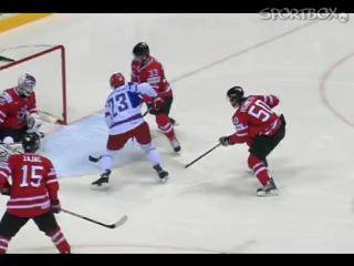 Россия- Канада 2-1 ЧМ 2011