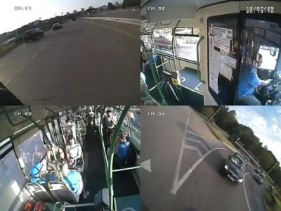 Автобус и Шевроле