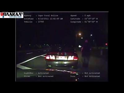 Полицейского ранили при осмотре автомобиля