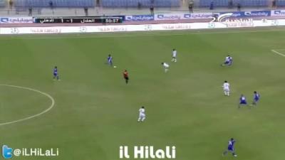 هدف ويسلي لوبيز امام الاهلي | ذهاب دوري زين 2013 | HD