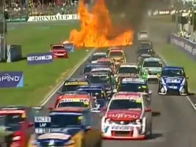 Огненный взрыв.