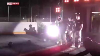 Джефф Монсон вышел на ринг под гимн Донбасса