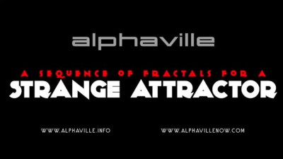 Alphaville: A sequence of fractals for a STRANGE ATTRACTOR