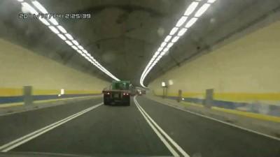Взрыв в тоннеле