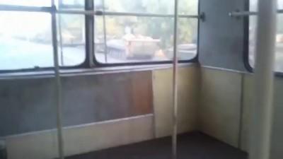 Колонна российских войск движется в Луганск 02 09 2014