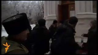 В Волгограде разогнали митинг против ФСБ!