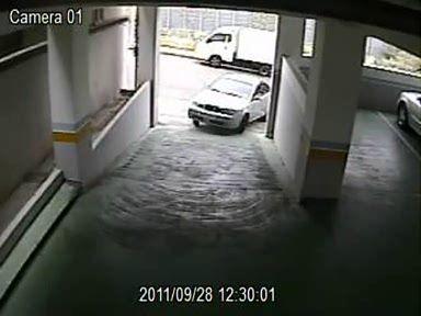 Заезд в гараж