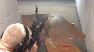 Вепрь ВПО 205-03 стрельба с ДТК+парадокс+пуля Гризли 40г