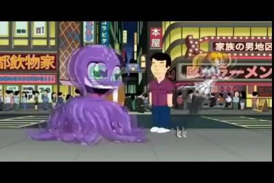 школьница трахается с осьминогом