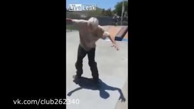 Трюк на скейте