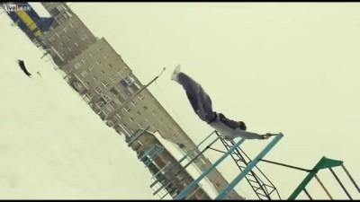 Паркур - сцена один дубль 2