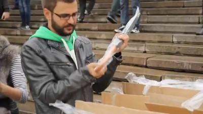 Флешмоб: День Рождения Андроида в Одессе