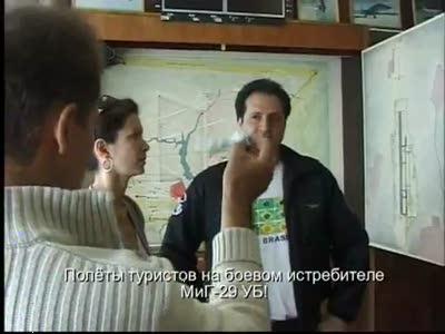 Видео-ролик о полетах на истребителях
