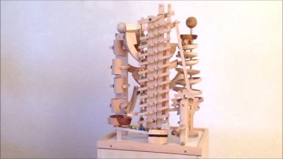 "Paul's marble machine ""Etagen"" (floors)"