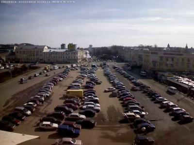 """Смоленск """"Фонтан на колхозной площади"""""""