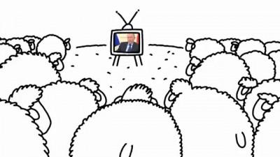 Путин врет, а овцы - слушают