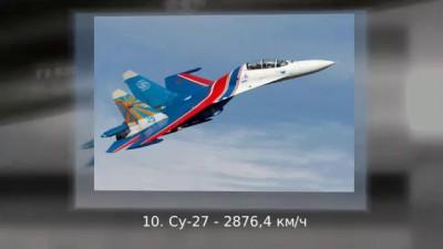 Топ 10 Самые быстрые самолеты в мире 720p #топ