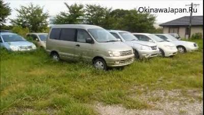 2013 год - свалка брошенных автомобилей в Японии