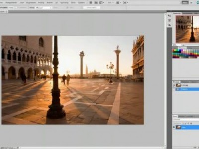 Уроки Photoshop CS5: Точечная восстанавливающая кисть