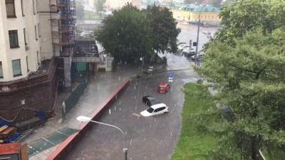 Москва потоп