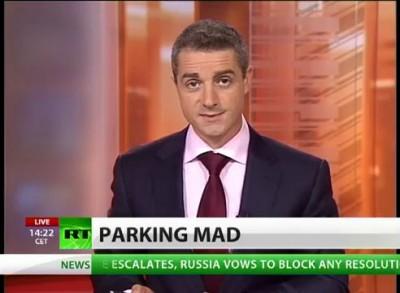 Мэр Вильнюса на БТР против неправильной парковки