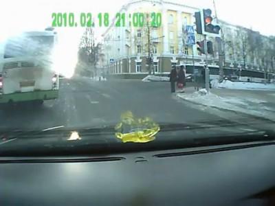 ДТП 24.01.2012 (ул.Мальцева)