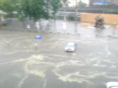 Потоп на Таможенной, порт ч.3 11.07.2012