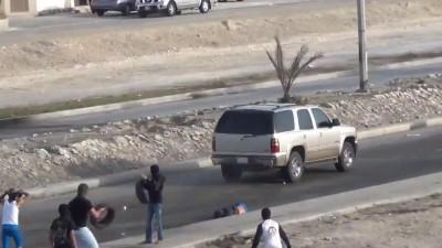 Бахрейн и горящие шины
