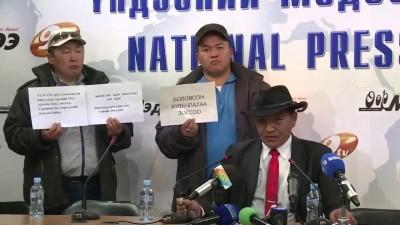 Горящая пресс конференция
