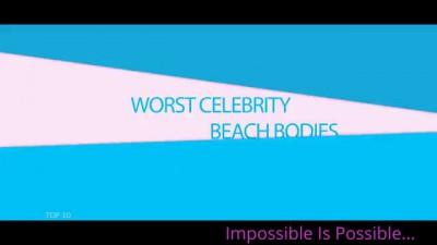Top10 Worst Celebrity Beach Bodies Katrina Kaif, Anushka Shetty ect