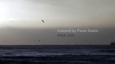 Iceland. Dark side