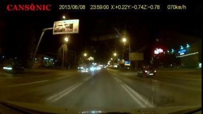 Авария на кольце Ипподрома г.Самара.