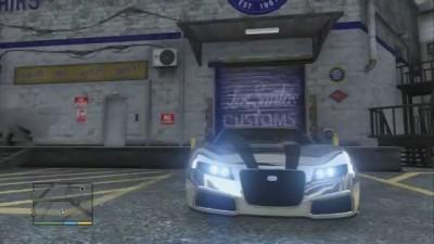 Погоня в GTA V