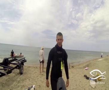 Подводная охота на Каспии