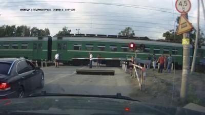 ДТП на переезде Вишняково