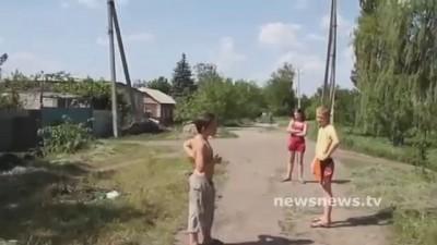 Славянские дети о хунте