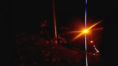 """Борьба с коррупцией??? Фото-радарный передвижной комплекс """"КРИС-П"""" сожгли ГАИшникам!"""