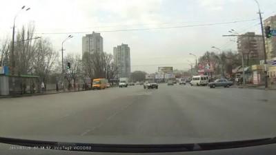 Автокатастрофа в Днепропетровске