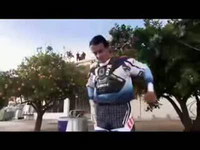 Летающий мотоциклист