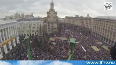 Видеоколлаж- Ложь 1 Канала про Майдан и реальность